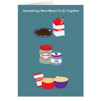Go Together Friend Anniversary Card