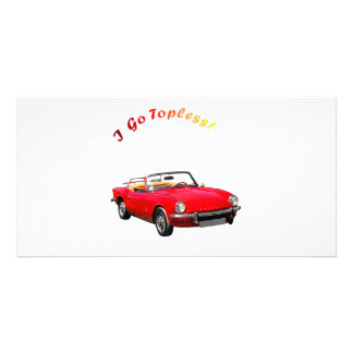 Go Topless Photo Cards