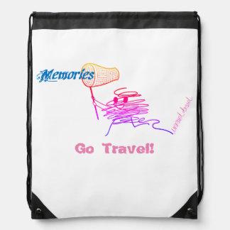 Go Travel! Drawstring Backpack