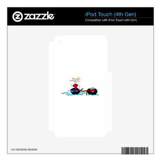Go Tubing iPod Touch 4G Skin