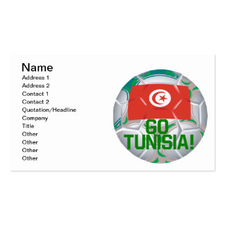 Go Tunisia Double-Sided Standard Business Cards (Pack Of 100)
