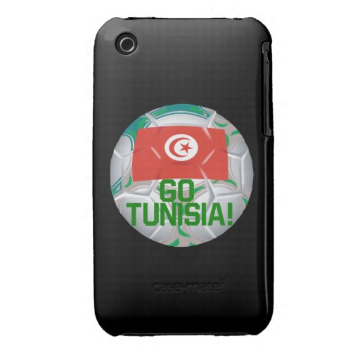 Go Tunisia iPhone 3 Cover