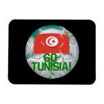 Go Tunisia Vinyl Magnet