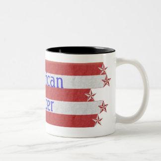 Go USA Black American Fencer Mug