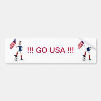 GO USA! BUMPER STICKER