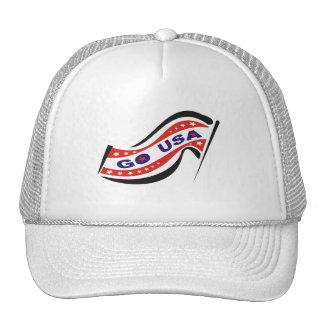 GO USA TRUCKER HATS