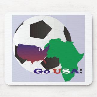 Go USA Soccer Mouse Pad
