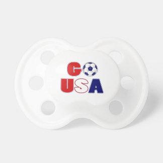 Go USA Soccer Pacifier