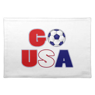 Go USA Soccer Placemat