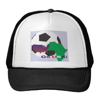 Go USA Soccer Trucker Hats