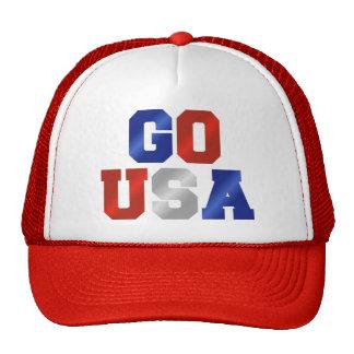 GO USA Sports Rally Cap Trucker Hat