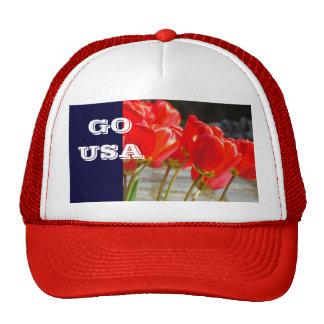 GO USA Truckers Sports Team HATS Olympics