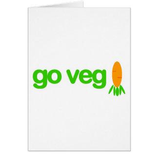 Go Veg Card