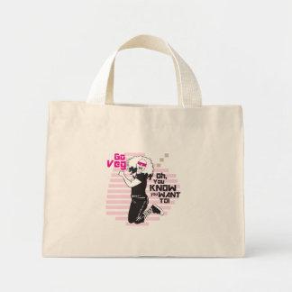 Go Veg! Mini Tote Bag