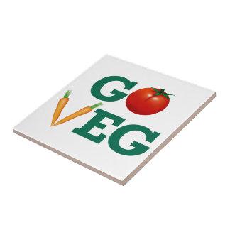 Go Veg Tile