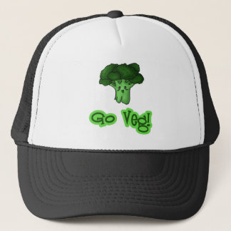Go Veg! Trucker Hat