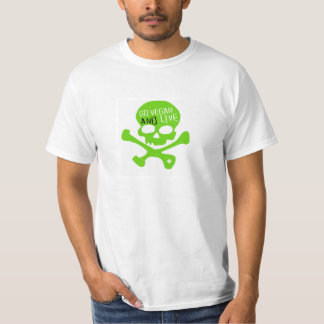 Go Vegan and Live T-shirt