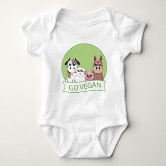Go Vegan Baby Bodysuit