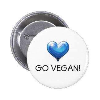 Go Vegan! Button