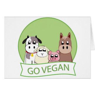 Go Vegan Card