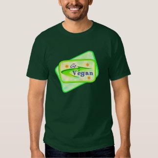 Go Vegan Dark Shirts