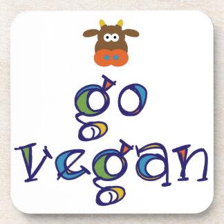 Go Vegan Drink Coaster