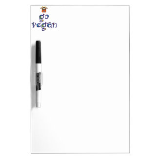 Go Vegan Dry-Erase Whiteboards