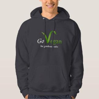 Go Vegan (for goodness sake) Hoodie