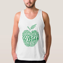 Go Vegan - for people, for the planet, for values Tank Top