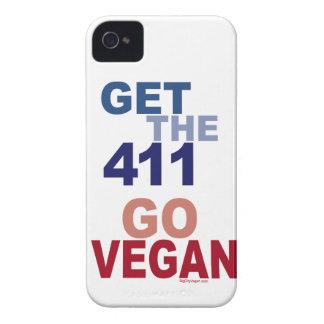 Go Vegan Get the 411 Case-Mate iPhone 4 Cases