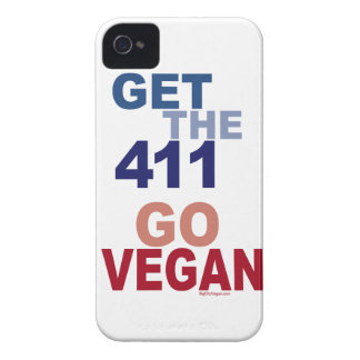 Go Vegan Get the 411 iPhone 4 Covers