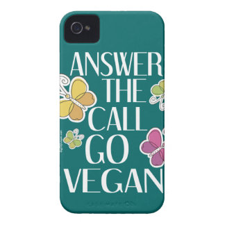 Go Vegan iPhone 4 Case-Mate Case