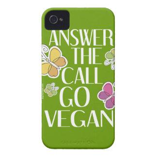 Go Vegan iPhone iPhone 4 Covers