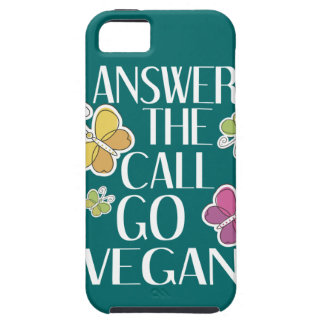 Go Vegan iPhone SE/5/5s Case