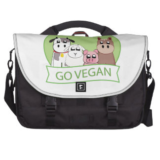 Go Vegan Laptop Commuter Bag