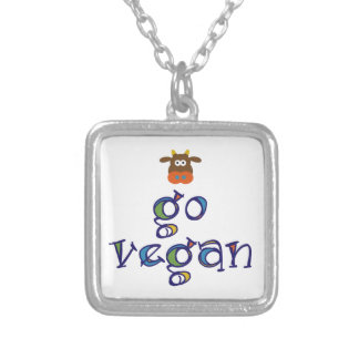 Go Vegan Personalized Necklace