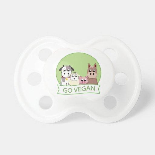 Go Vegan Baby Pacifiers