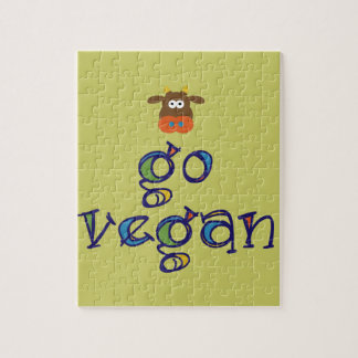 Go Vegan Jigsaw Puzzle