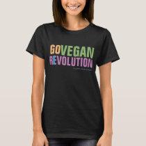 GO VEGAN REVOLUTION -01W T-Shirt