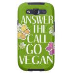 Go Vegan Samsung Galaxy S3 Cover
