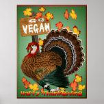 Go Vegan-Thanksgiving Poster