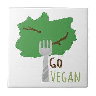 Go Vegan Ceramic Tiles