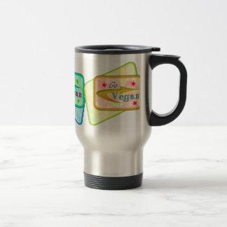 Go Vegan Travel Mugs