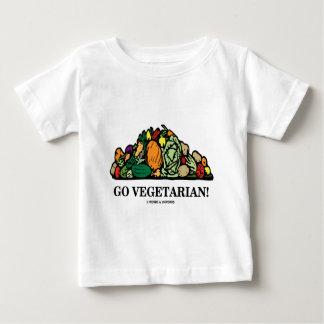 Go Vegetarian! (Vegetarian Humor) Baby T-Shirt