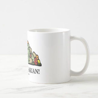 Go Vegetarian! (Vegetarian Humor) Coffee Mug
