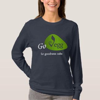 Go Vegg (for goodness sake) Long Sleeve for Women T-Shirt
