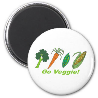 Go Veggie Magnets