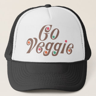Go Veggie Trucker Hat