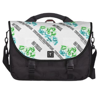 Go Viral With Reverse Transcriptase Laptop Commuter Bag