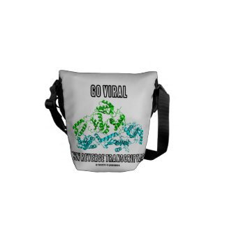 Go Viral With Reverse Transcriptase Messenger Bag